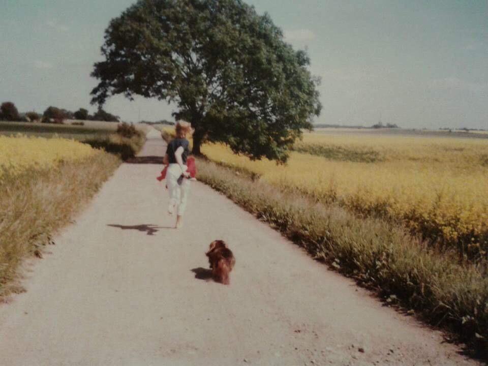 Solbjerg Hedevej ca.1980